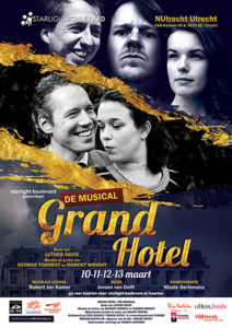 Musical Grand Hotel Poster