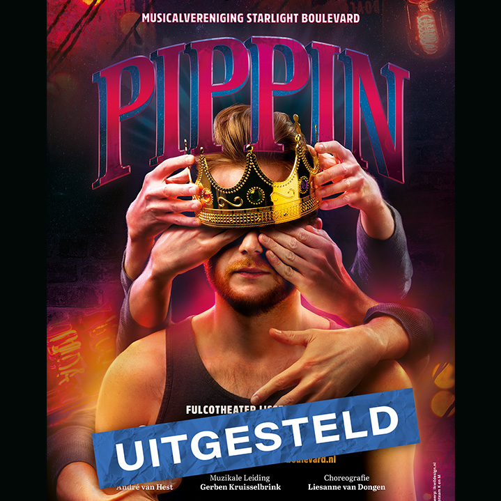 Uitstel Pippin de musical