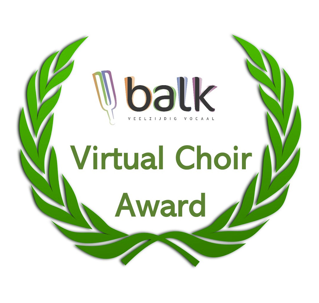 Balk Virtual Choir Award Logo